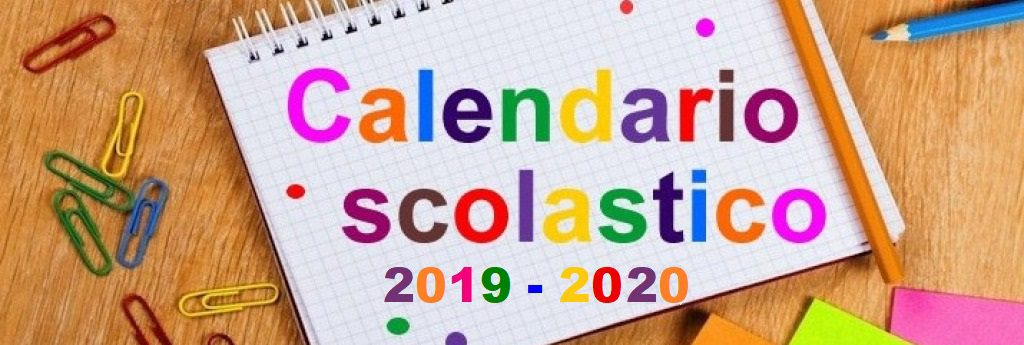 Quali saranno le chiusure dell'a.s. 2019/2020?