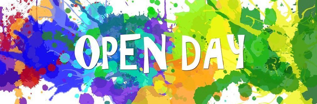 1, 2, 3 … OPEN DAY!